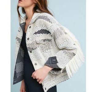 NWT Levi's Made & Crafted Fringe Jacket
